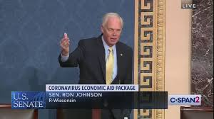 Sen. Ron Johnson blocks Hawley bill proposing $1,200 stimulus checks - Axios