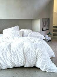quilts etc duvet covers quilt cover pattern quilted drift white set modern chenille contemporary bedding textured bedroom