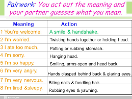 Body Language Meanings Body Language Unit 4 Body Language Warming Up Reading Ppt Download
