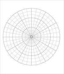 Free Printable Polar Graph Paper Template In Pdf Free