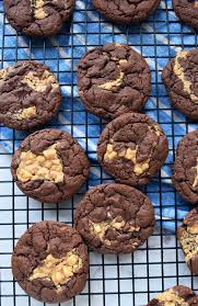 Peanut Butter Chocolate Cake Mix Cookies All Things Mamma