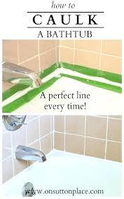 re caulk tub caulking bathroom tub money saving home repairs bathroom how to re caulk your re caulk tub