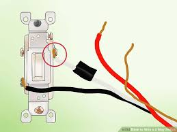 how to wire a 3 way switch (with pictures) wikihow single pole light switch wiring at Wiring A Switch