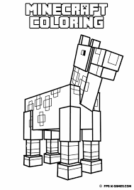 Small Picture Free Printable Minecraft Coloring Pages In Minecraft Wolf Coloring