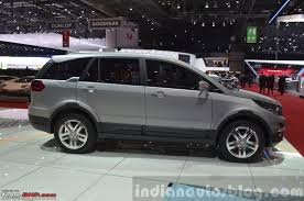 new car launches team bhpTata Hexa  Geneva Motor Show 2015 An Ariabased Crossover
