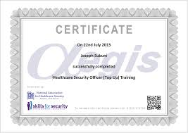 aegis protective services top up option 2 distance learning tu certificate example