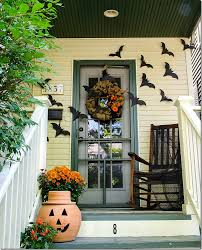 diy halloween decorations home. Cute Halloween Decorations Oudoor And Diy On Outside Houses With Stained White Fence Design Home