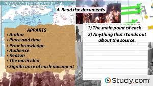 how to master the document based essay question on the ap u s  how to master the document based essay question on the ap u s history exam video lesson transcript com