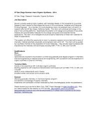 Chemical Engineering Internship Cover Letter Examples Cover Letter
