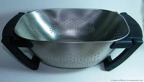 oxo colander oxo over the sink colander