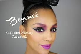 beyoncé inspired hair and makeup tutorial