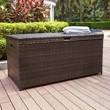 Crosley Palm Harbor Outdoor Wicker Bar Cart In Brown  CO7213BRPalm Harbor Outdoor Furniture