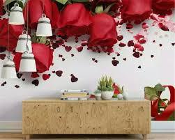 beibehang Custom 3d wallpaper romantic ...