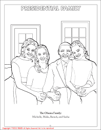 Small Picture Absolutely Smart President Obama Coloring Page President Obama And