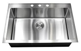 Kitchen  Cute Farmhouse Kitchen Sinks With Drainboard Corstone White Single Bowl Drop In Kitchen Sink