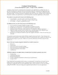 Sample Resume For Application To Graduate School Valid 5 Grad School