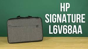 Распаковка <b>HP Signature</b> 15.6'' Grey/Black L6V68AA - YouTube