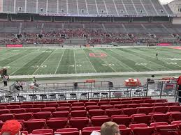 Ohio St Football Stadium Seating Chart Ohio Stadium Club 2 Rateyourseats Com