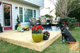 patio deck decorating ideas. Small Patio Designs Decorating Ideas A Little Plays On New  Backyard Deck Next