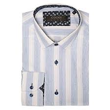 Coogi Luxe Mens 100 Cotton Casual Fit Dress Shirt More Styles Available