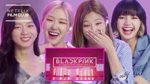 BLACKPINK Reacts To BLACKPINK: LIGHT UP THE SKY Official Trailer