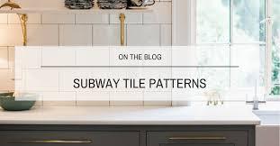 subway tile patterns heritage tile s subway ceramics subway tile blog