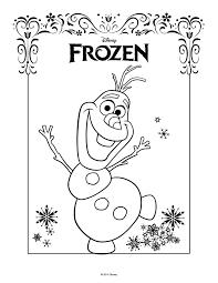 Bello Disegni Da Colorare Di Frozen Gratis Migliori Pagine Da