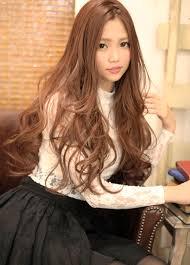 髪型 ロング ハイライト