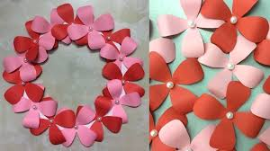 decorative wall hanging ideas paper flower wall hanging wall decoration hanging flowers diwali decoration wall hanging