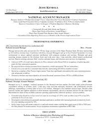 Great Sales Manager Resume Examples Resumes Formater