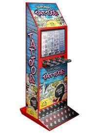 Tattoo Vending Machine Impressive 48 Column Tattoo Vending Machine Red