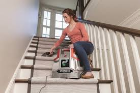 carpet spot cleaner machine hoover fh11300pc spotless portable carpet cleaner stairs view