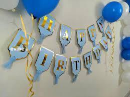 excellent blue white balloon decoration