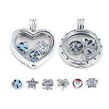 diy pandora charms necklace s925 silver locket jpg