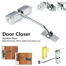 automatic door closer stainless steel adjule surface mounted automatic spring closing door closer automatic door closer automatic door closer