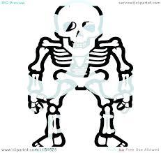 Bones Coloring Pages Skull And Skeleton Clip Art Free Dog Bone Page