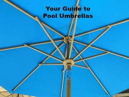 pool umbrellas rectangular patio umbrella