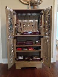 best 25 jewelry armoire ideas on diy jewelry