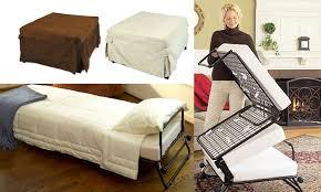 folding ottoman single sofa bed
