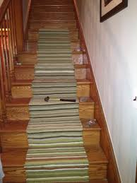 carpet runners by the yard low cost photo ideas horizontal striped stairs on brown wooden staircase having cost to carpet stairs a30