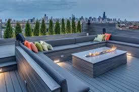 deck ideas. Contemporary Deck Ideas-Fire Features-23-1 Kindesign Ideas