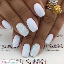 white nail designs a collection of 25