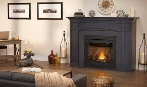 gas fireplace mantels paint