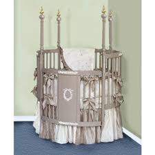 Victorian Dreams Round Crib Bedding Set