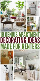 19 apartment decorating ideas made for ers