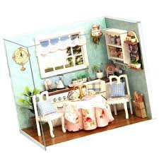 Miniature dollhouse furniture for sale Diy Miniature Miniature Dollhouse Furniture Wooden Large Doll House Miniature Wooden Building Model Furniture Model Uniformdirectory Miniature Dollhouse Furniture Sport Fitness Doll House Wooden Doll