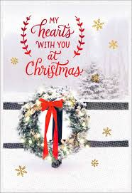 Photo Christmas Card Missing You At Christmas Greeting Card Greeting Cards Hallmark