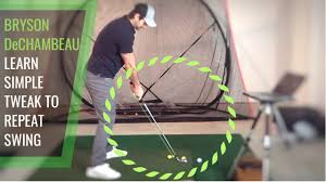He is the only golfer on the pga tour with irons and wedges that measure one length, 37.5. Bryson Dechambeau Golf Lesson Set Up Like This For More Consistency In Your Ball Striking Youtube