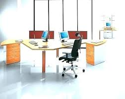 office desk for two people. Contemporary People Two Person Workstation Desk Home Office For 2  Throughout Office Desk For Two People N