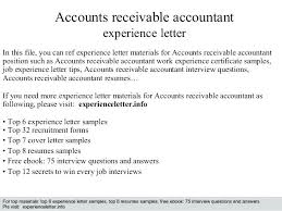 Medical Accounts Receivable Cover Letter Dailyvitamint Com